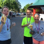 Bannas, water and medals for People Chase runners - EDA 2017