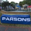 Parsons Fountain sign - EDA 2017