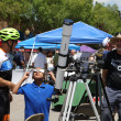 Telescope, Bike Rider and boy sun viewing EDA 2017