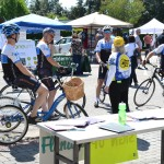 Getting ready for the Family Bicycle Ride - EDA 2017