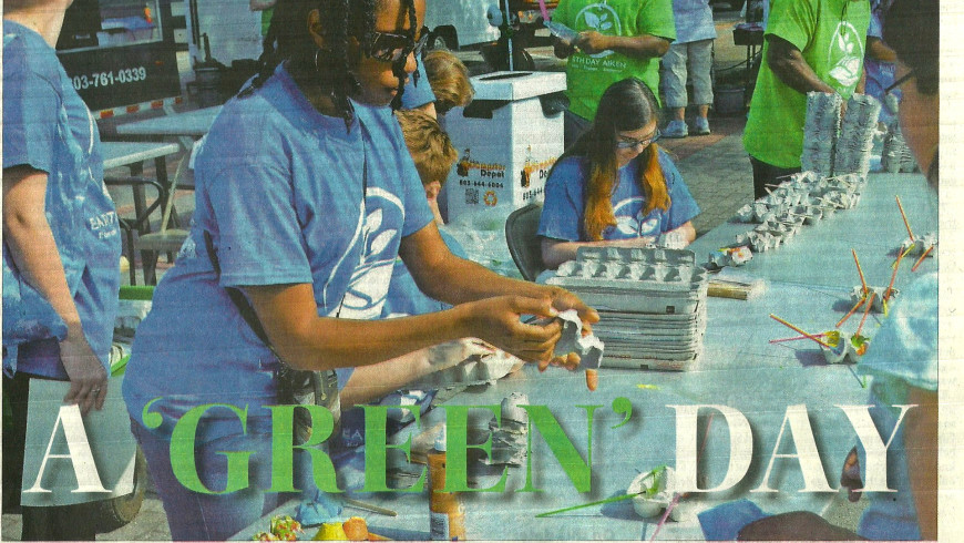 Earth Day Aiken in the News 2017